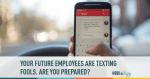 employee, texting, communication, workplace