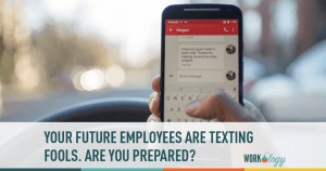 employee, texting, communication, workplace