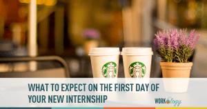 internship, first day, new intern
