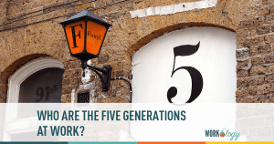 Who Are the 5 Generations At Work? #fivegenwork