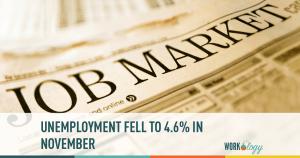 unemployment, jobs, november