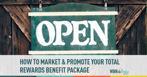 market, promote, employee rewards, perks, benefits