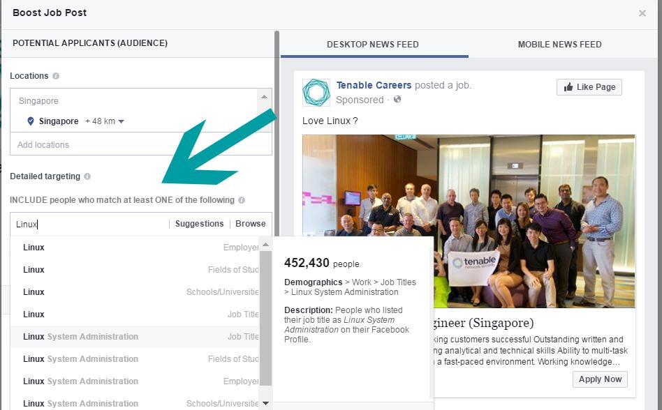 New Facebook Job Postings Boosting Them To Get Seen