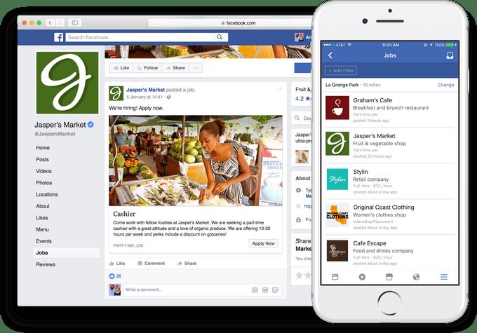 Facebook jobs, Facebook recruiting