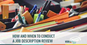 How and When to Conduct a Job Description Review