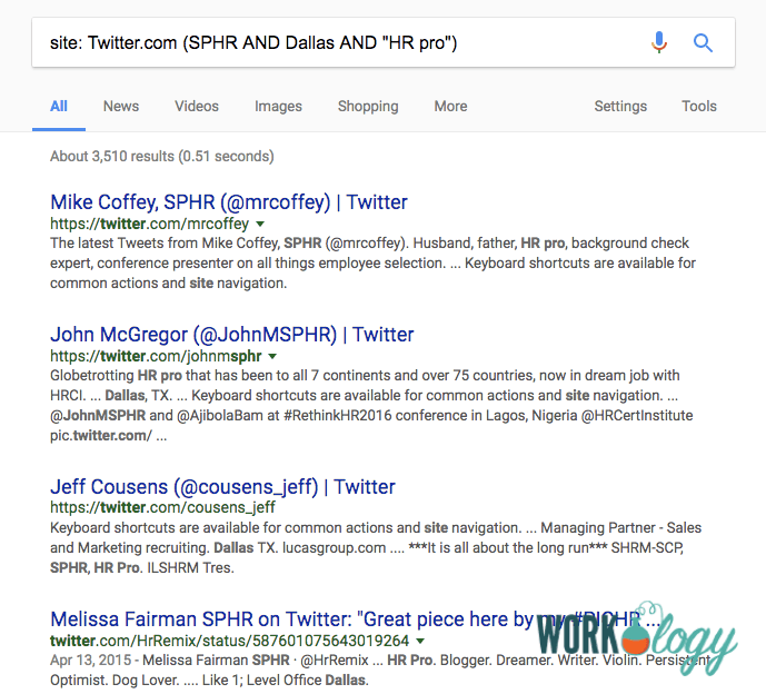 how to use a google x ray search to find hidden candidates workology Blog Key Words step 2 setting up your basic boolean string
