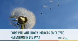 employee retention, corp philanthropy, employee engagement