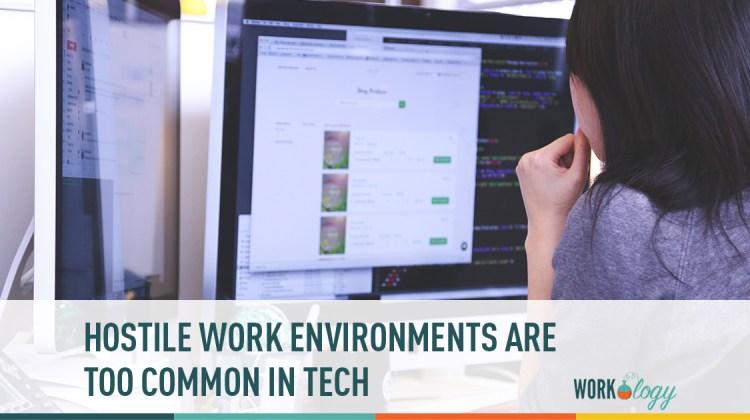 hostile work environment, uber, tesla, tech industry