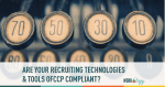 recruiting tools, compliance