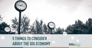 gig economy, contingent workforce
