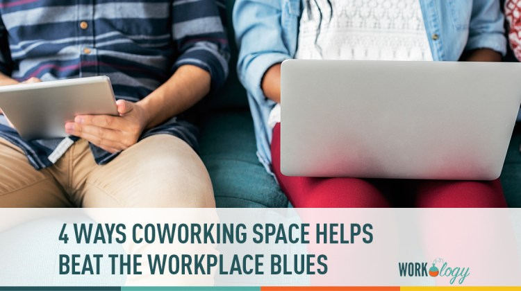 coworking, workplace mental health