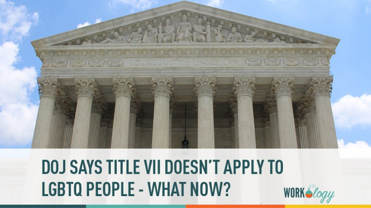 doc says title vii does not apply to lgbtq people - what now