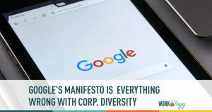 google memo, google diversity manifesto, google diversity, corporate diversity