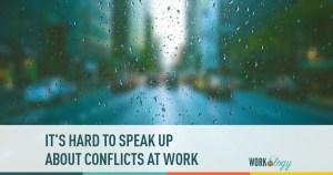 It's Hard to Speak Up at Work