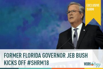Former Governer Jeb Bush Kicks Off #SHRM18