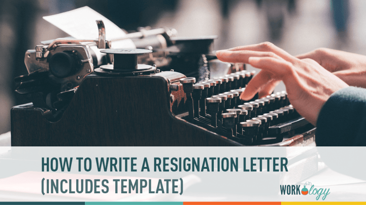 how to write a resignation letter template workology