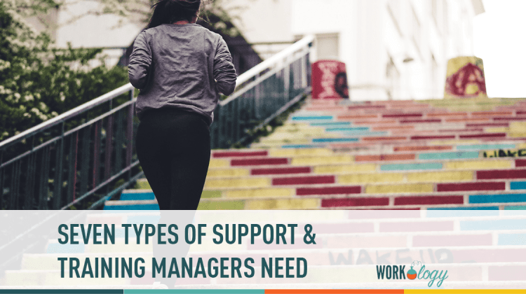seven types of training and support managers need