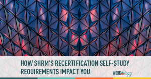 SHRM Changes Online Learning Recertification Requirements