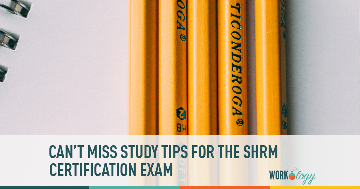 5 Tips For Studying In Preparation For The Shrm Certification Exam