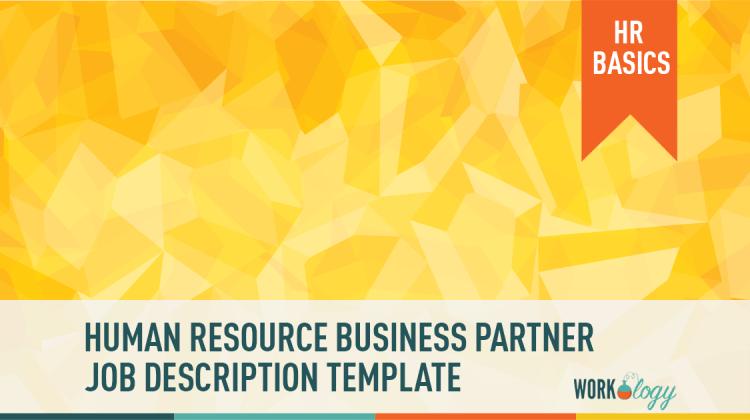 human resources business partner job description template, HRBP