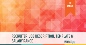 Job description template for recruiter in human resources