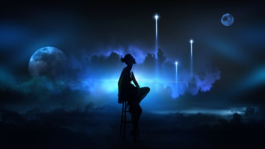 women clouds lights moon silhouette fantasy art artwork sitting space art stool 1920x1080 wallpap_www.wallmay.net_13