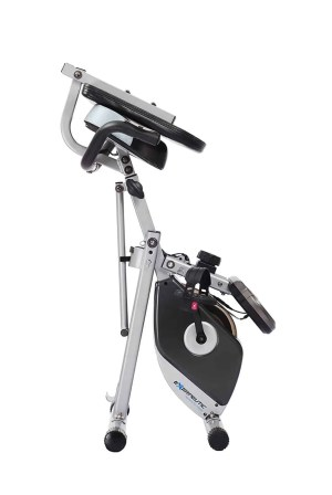 400xl folding recumbent exercise bike