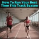 Running their best times of the season