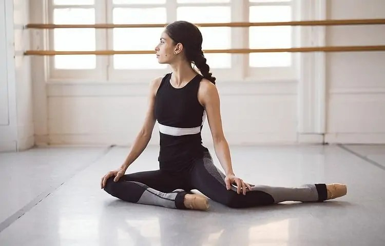ballet barre streches