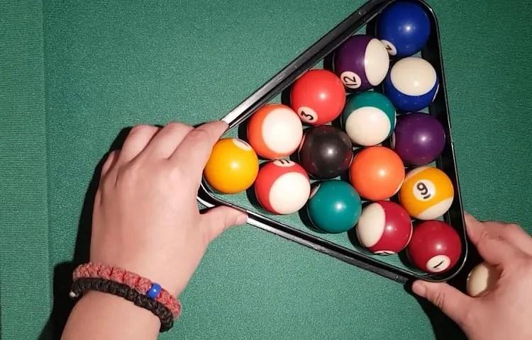 racking balls for pool