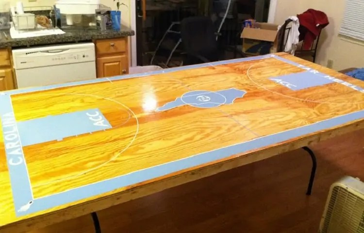Idea for DIY beer pong table