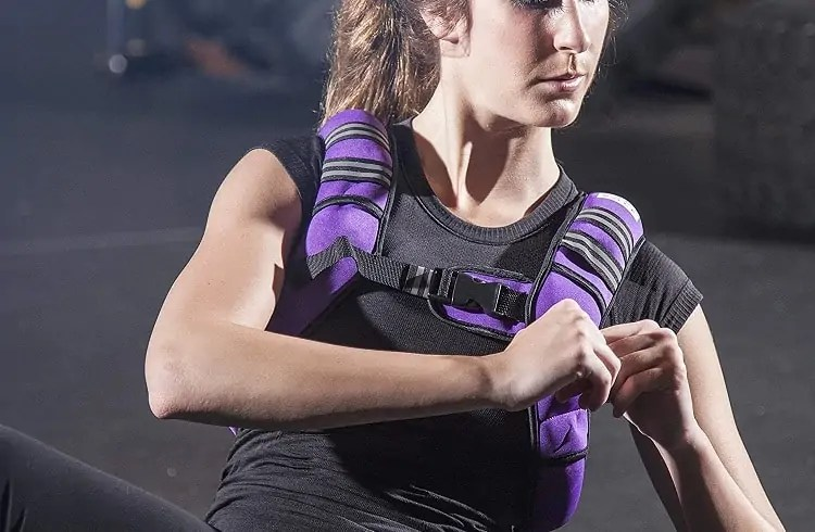 weighted vest for women for losing weight