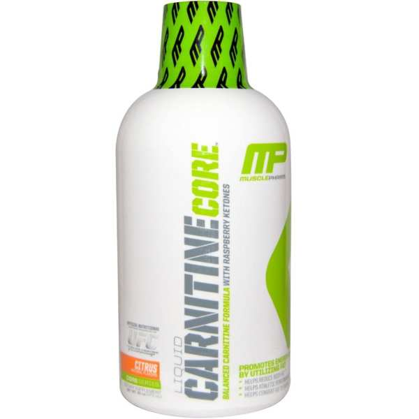 MUSCLEPHARM - Carnitine Core Liquid Citrcus (30 Serving)
