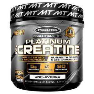 MUSCLETECH - Platinum 100% Creatine (Unflavoured) (400 g)