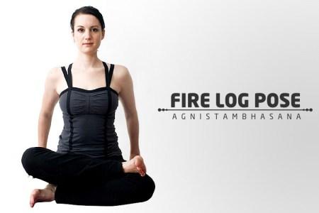 fire log pose agnistambhasana