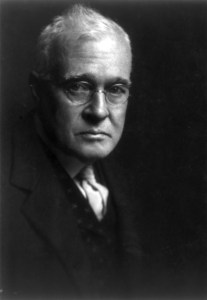 Horace Fletcher of the fletcherism diet