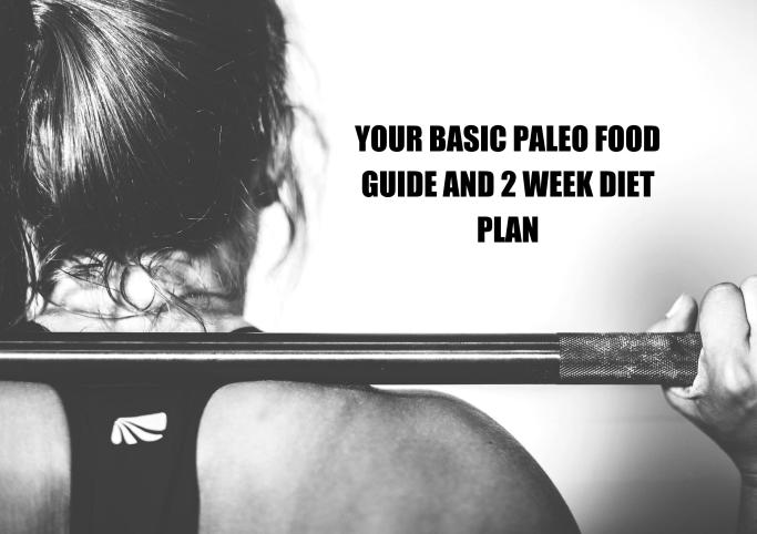YOUR BASIC PALEO FOOD GUIDE AND 2 WEEK DIET PLAN COVER PAGE_01