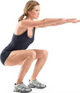 Home Workouts: Body weight Squat Exercise