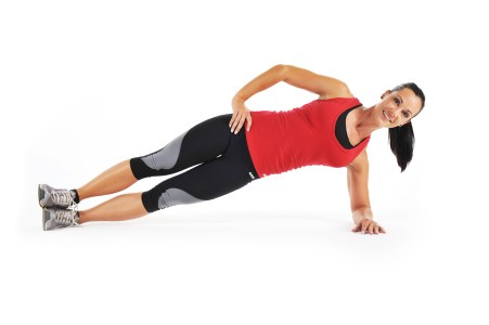 Home Workouts: Side Plank Exercise for Women