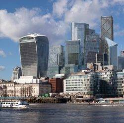 Demand for commercial office space in London by global businesses remains strong