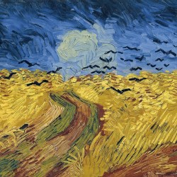 Wheatfield with Crows depicts the pointlessness of trying to capture agile work
