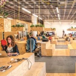 a modern open plan space