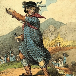 The leader of the Luddite movement