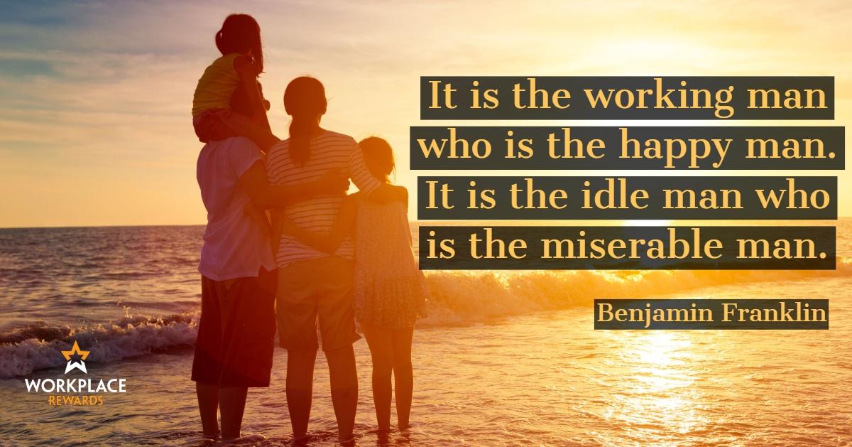 motivational quote benjamin franklin