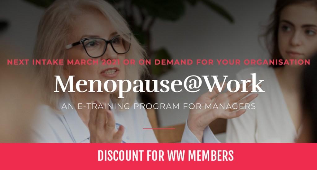 Menopause @ Work