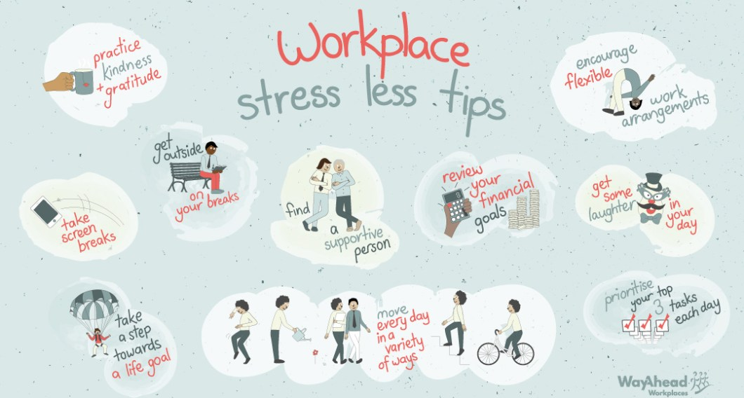 Workplace Stress Less Tips