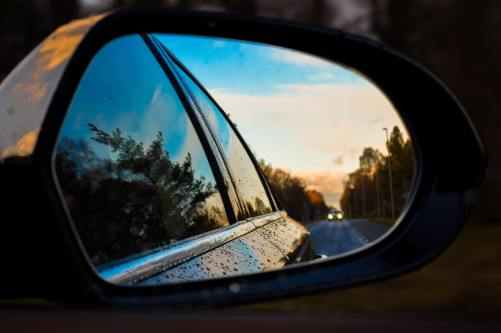 self-reflection helps you see the past