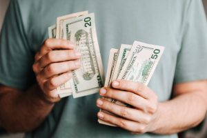 money helps when coping with crisis