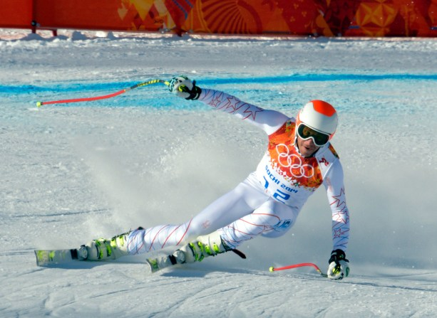 Olympics: Alpine Skiing-Men's Training