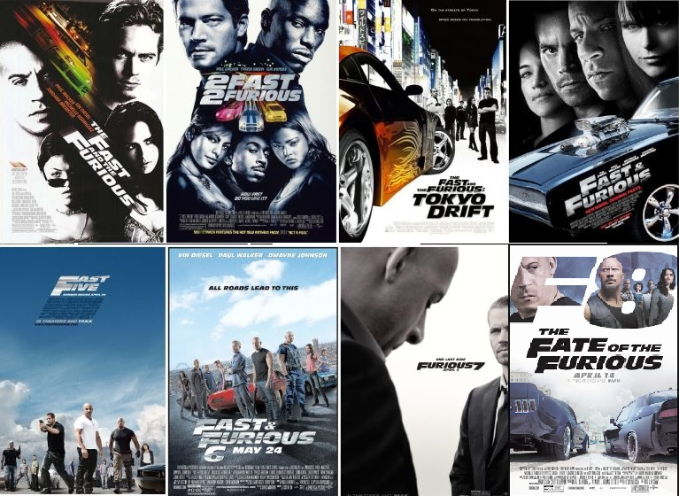 Rewatching All 8 Fast and Furious Movies